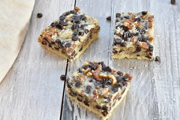 Gluten Free Magic Cookie Bars