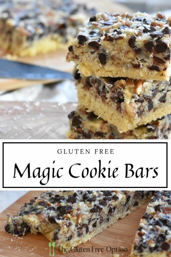 Gluten Free Magic Cookie Bars