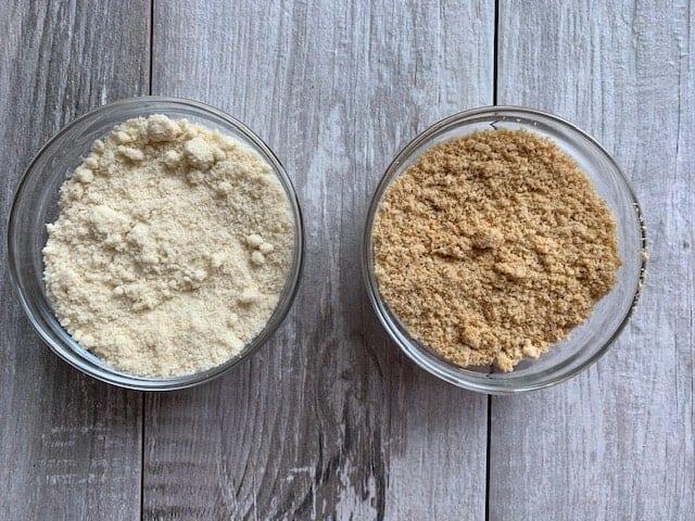 How to toast almond flour