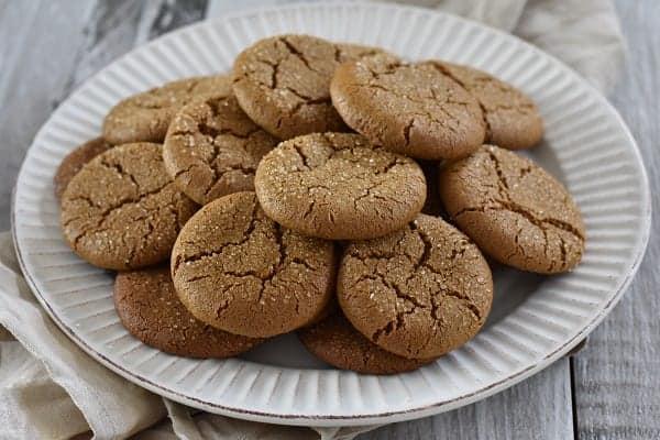 Gluten Free Ginger Snaps