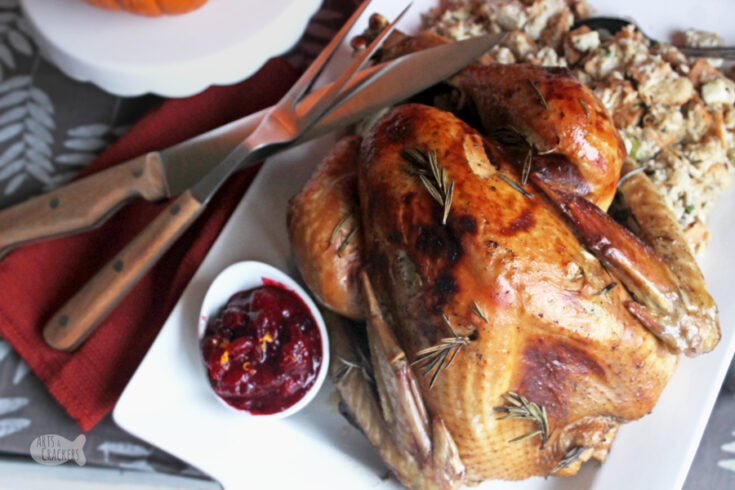 Apple Cider Turkey Recipe with Gluten Free Turkey Gravy