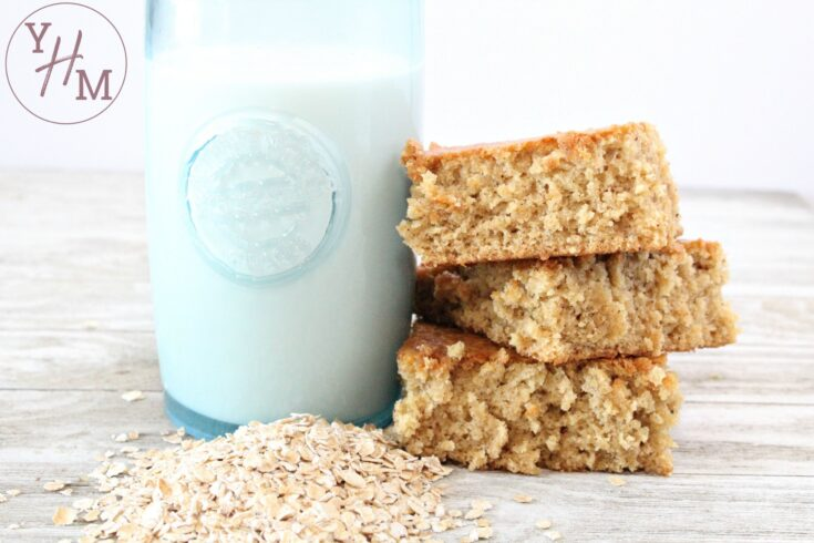 Gluten Free Oatmeal Breakfast Bars