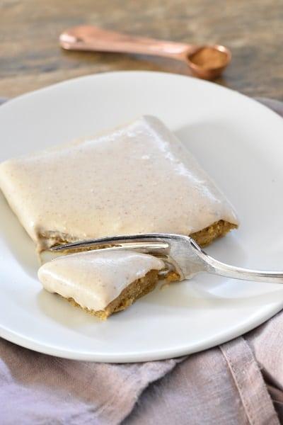 Almond Paleo Coconut Cream Glaze