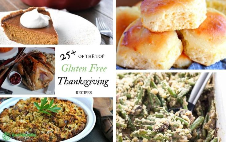 The Ultimate Gluten Free Thanksgiving Recipes