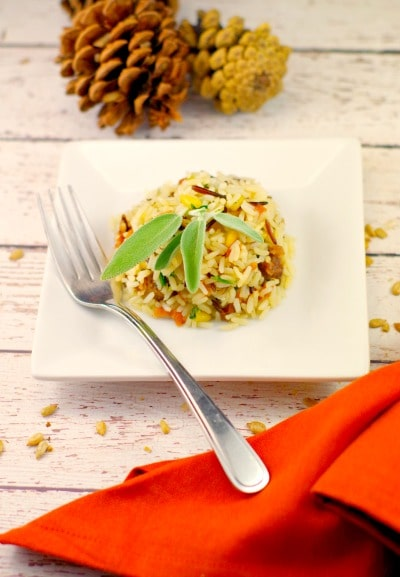 Gluten-free Sausage & Apple Rice