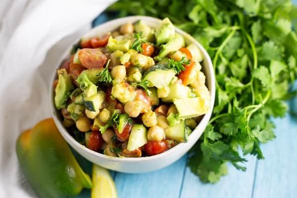 Gluten Free Chickpea Salad