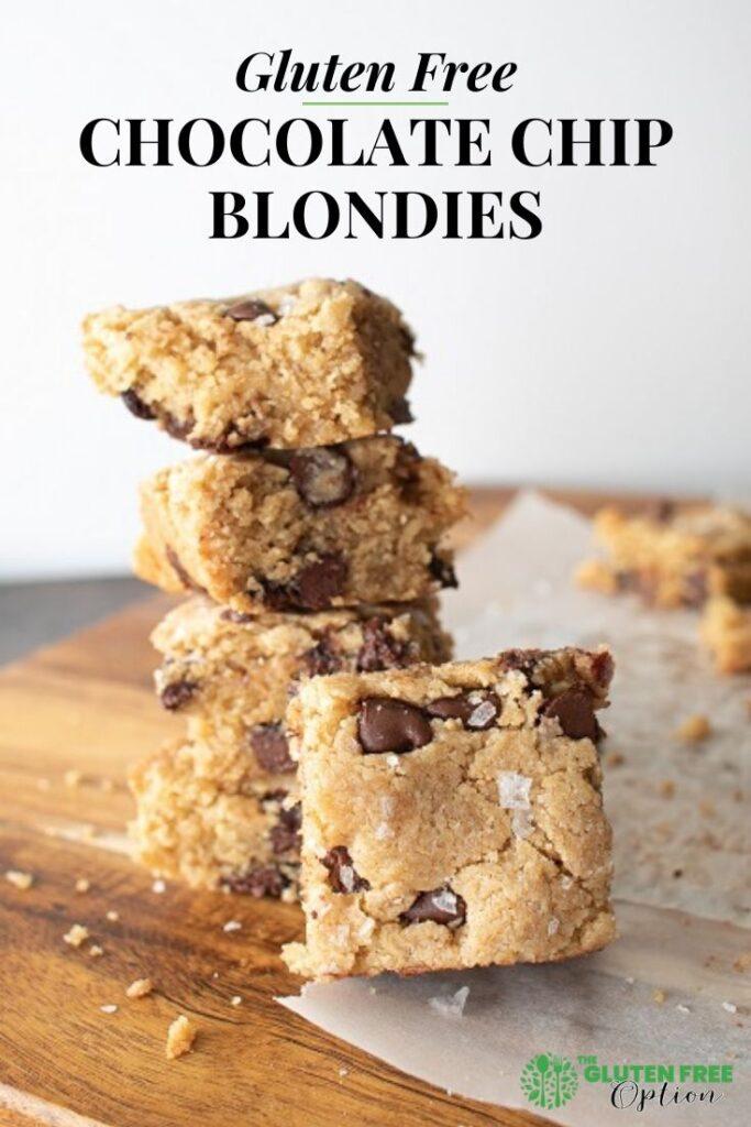 Gluten Free Chocolate Blondies
