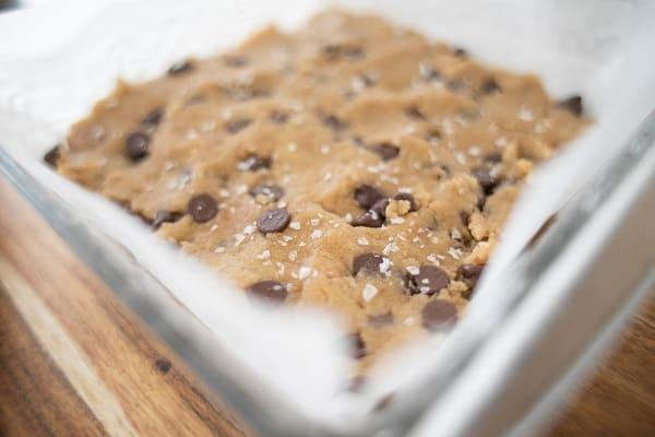 Gluten Free Chocolate Chip Blondies