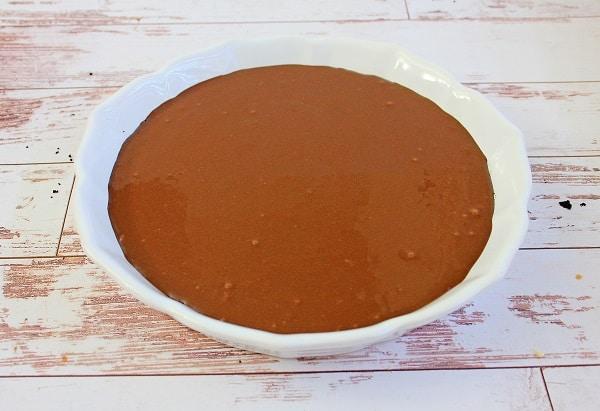 Gluten Free Chocolate Raspberry Fudge Pie