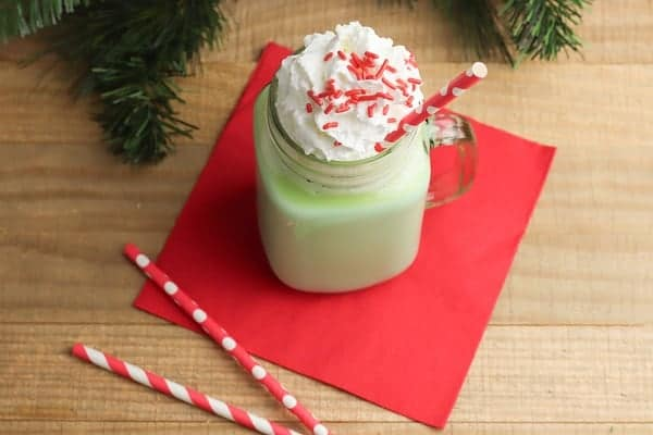 Gluten Free Mint Hot Chocolate