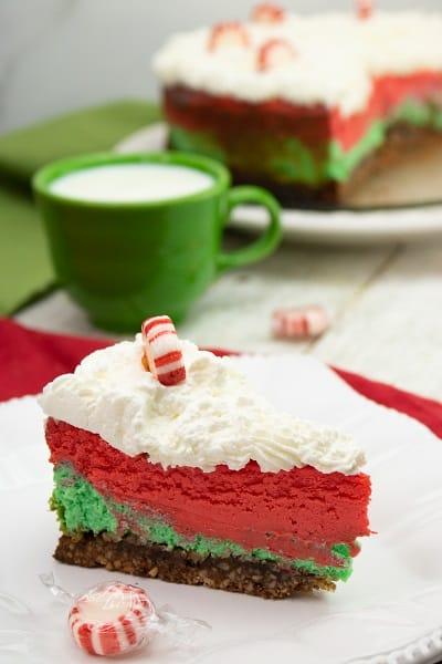 Gluten Free Christmas Cheesecake