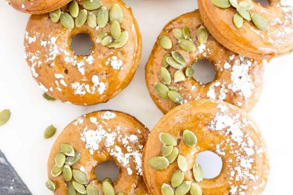 Gluten Free Pumpkin Spiced Donuts