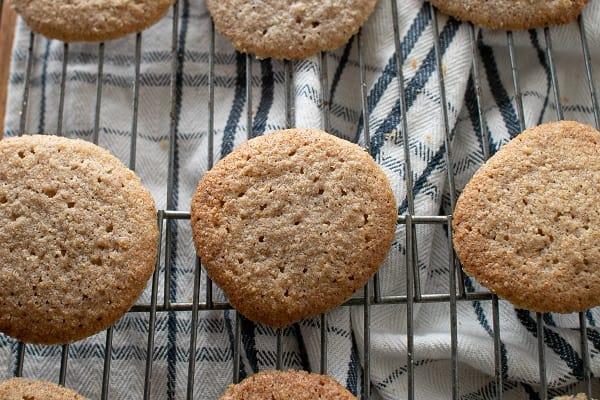 Gluten Free Oatmeal Spice Cookies